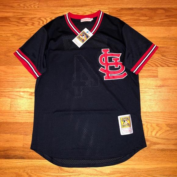 hot sale online 52b4e 50bd0 NWT Yadier Molina St. Louis Cardinals MLB Jersey